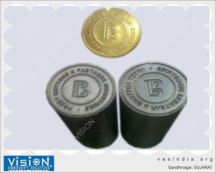 Laser Engraving Coin Die