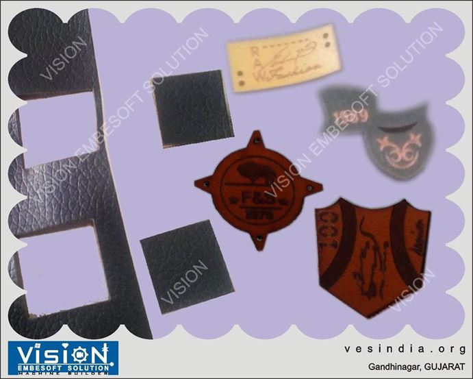 Laser Marking Cutting Engraving on Leather