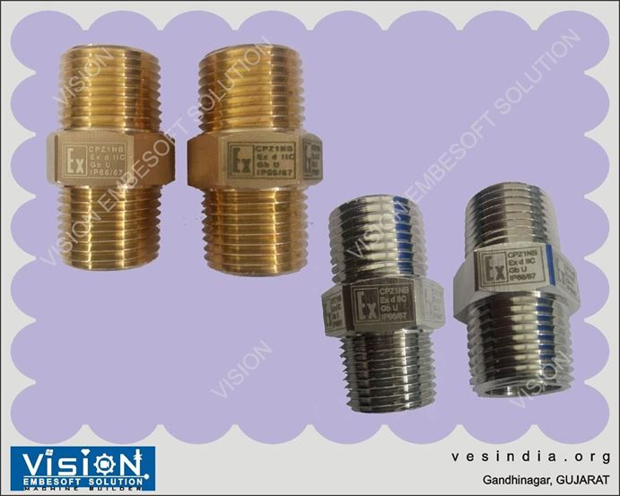 Laser Marking on Metal Bolts Nuts