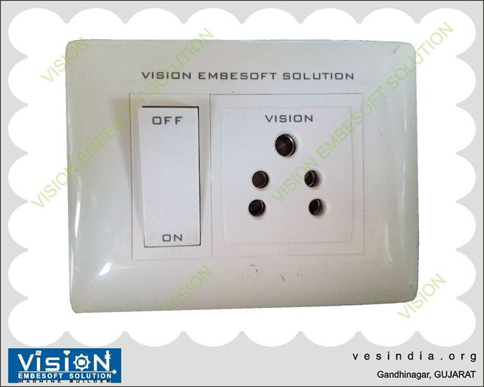 Laser Marking on Switch Board