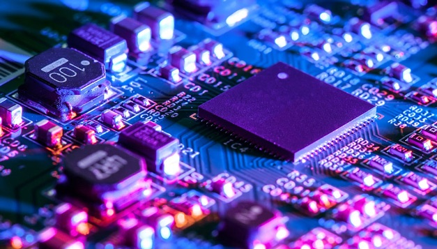 Laser marking of semiconductors